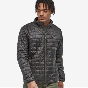 Men's Patagonia Nano Puff Gray Jacket  (L)